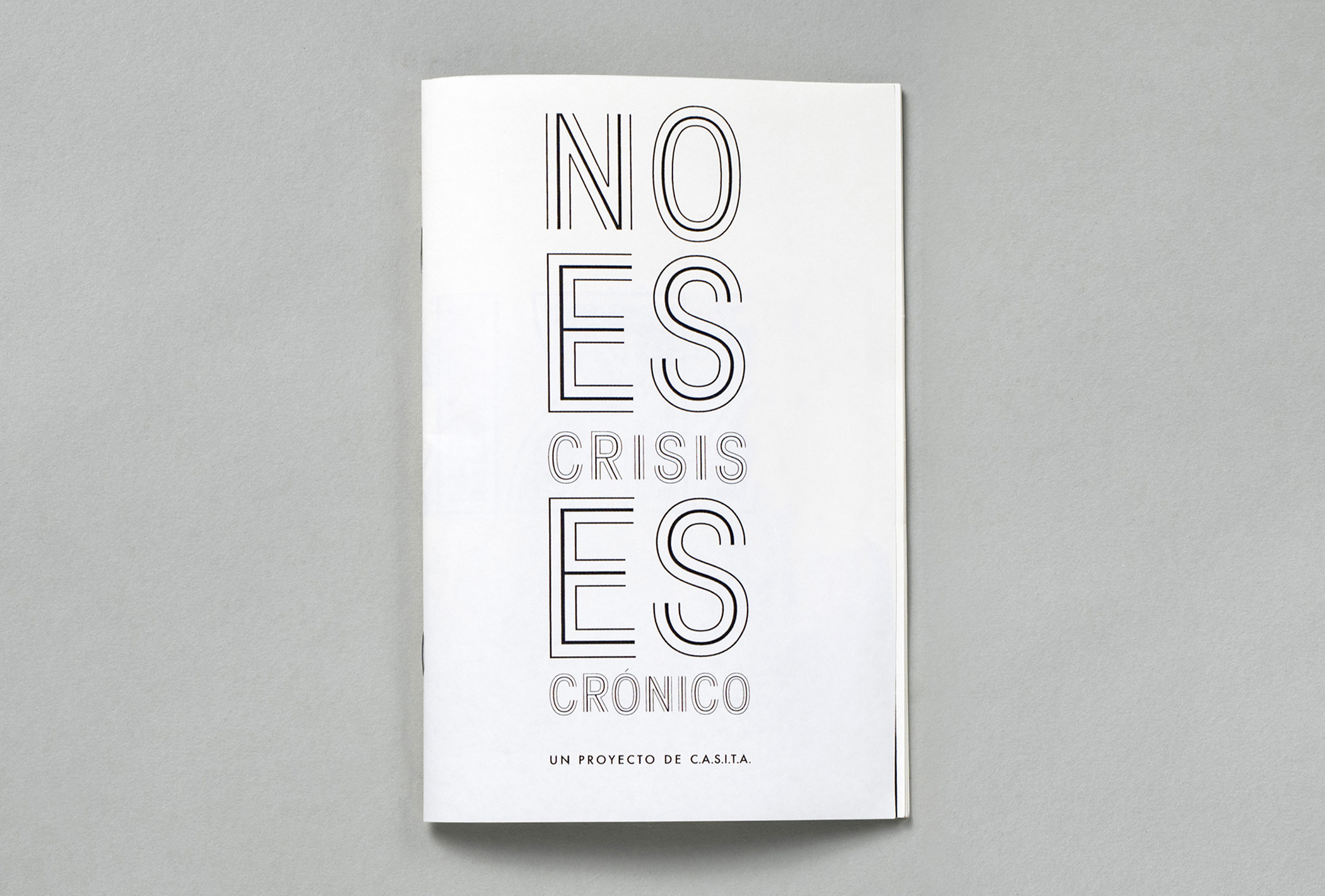 It is not a crisis, it is a chronic issue