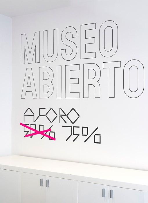 Señalización de museos en la era COVID-19